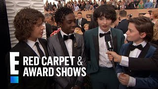 """Stranger Things"" Cast Have Superstar Celeb Fans 