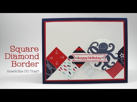 Easy Square Diamond Border