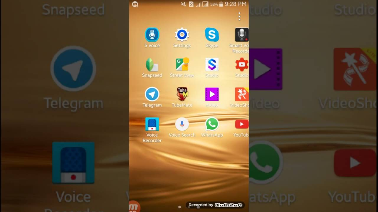 How to show hidden apps on android