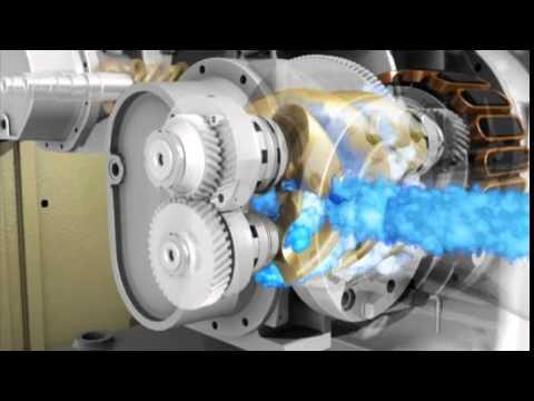 nirvana schraubenkompressoren mit hpm antrieb youtube