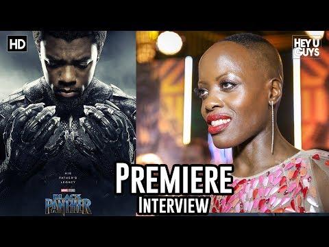 Florence Kasumba - Black Panther Premiere Interview