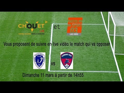 Football National U17  - AS MOULINS FOOTBALL vs CLERMONT FOOT 63