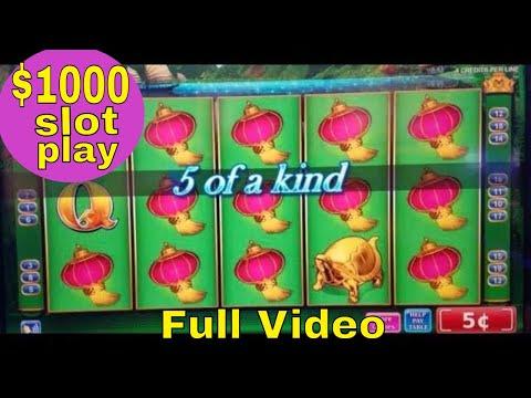 $1000 At China Shores Slot Machine,Worst Bonuses With Max Bet ! Live Slot Play   FULL VIDEO