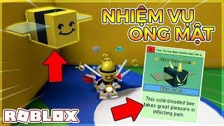 * Actualización * LA MISION DE HONEYBEE Y GIFTED VICIOUS BEE Simulador de enjambre de abejas (Roblox)