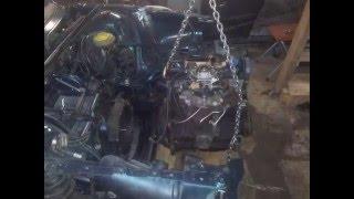 Ремонт Audi 80 B4 после лобового ДТП(Это видео создано в редакторе слайд-шоу YouTube: http://www.youtube.com/upload., 2016-03-06T12:28:39.000Z)