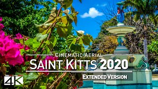 【4K】Drone Footage | The Beauty of Saint Kitts and Nevis in 8 Minutes 2019 | Cinematic Aerial Caribe