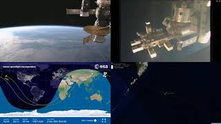 Evening Asian Coastlines - NASA/ESA ISS LIVE Space Station With Map - 320 - 2018-12-12