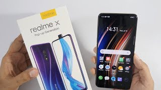 Realme X with Pop Up Camera Unboxing Overview