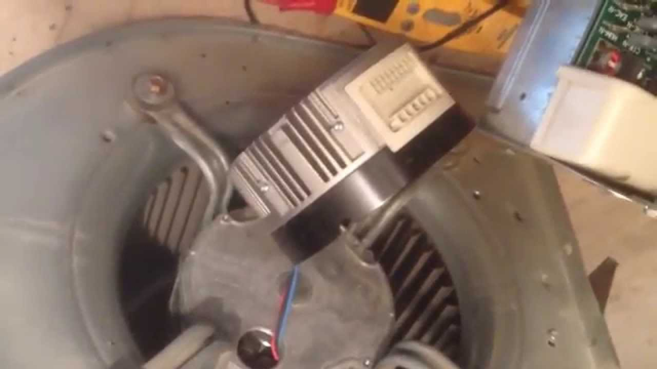 Trouble Shooting A Trane Variable Speed Motor Youtube