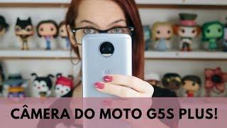 O Que Achei da CÂMERA TRASEIRA DO MOTO G5s PLUS! | Luh Testoni