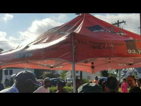 WBLK & Mandela Market Celebrating Nelson Mandela's Birthday