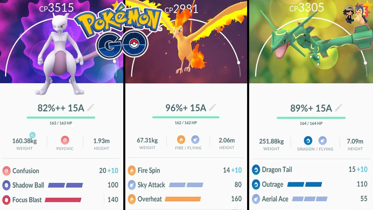 TOP 5 LEGENDARY POKEMON TO UNLOCK 2ND CHARGE MOVE FOR IN POKEMON GO! | Dual  Coverage (PVP + Raids)