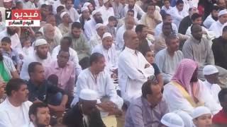 تكبيرات وصلاة العيد بساحة سوق السيارات فى مدينة نصر