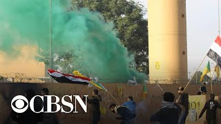 Iran-backed protesters withdraw from U.S. Embassy compound in Baghdad