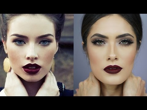 """The """"Perfect"""" All Matte Fall Makeup Look 
