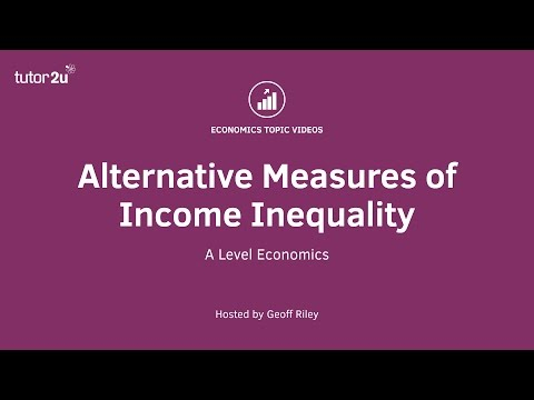 Alternative Measures of Income Inequality