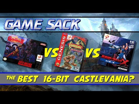 The 16-Bit Castlevanias - Game Sack