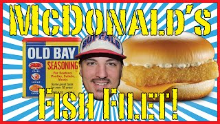 Mcdonald's Old Bay Fish Fillet!