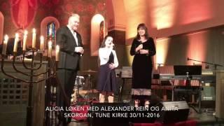 Alicia Løken, Rein Alexander og Anita Skorgan - Stille Natt