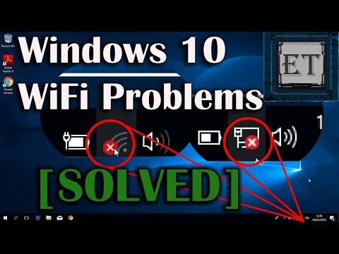 How To Fix WiFi Problems in Windows 10 - Red X on WiFi [8 Fixes] (2018)