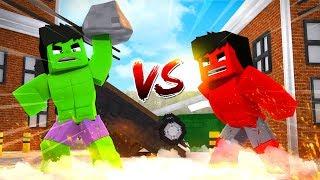 Minecraft: HULK VS HULK VERMELHO - HARD HEROIS #28 « Nitro »