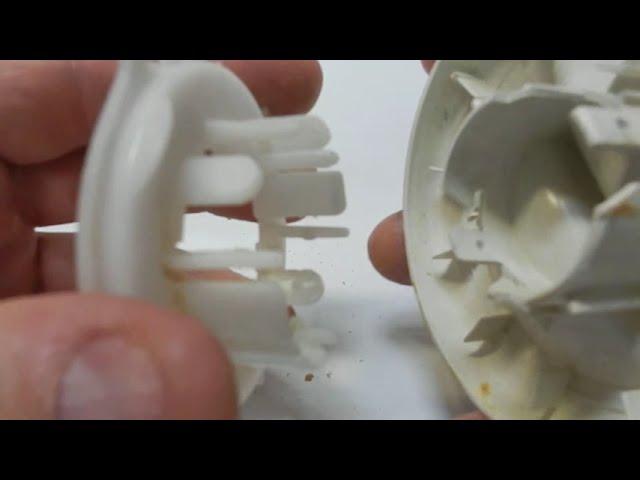 Bosch Profimixx 4 Robotgép Kapcsoló közdarab szétszedése (Így csináld)