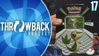 Opening a Snivy Tin of Black and White Era Pokemon Cards! | Throwback Thursday #17