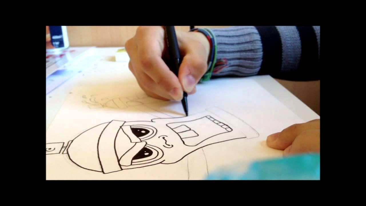tutoriel-comment faire une spraycan! (bombe de peinture) - youtube - Comment Fabriquer Une Bombe De Peinture