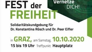 Solidaritätsdemo für Dr. Rösch & Dr. Eifler