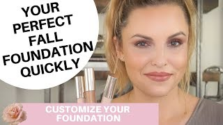 HOW TO CUSTOMIZE ANY FOUNDATION & CONCEALER! ||  Adjust Finish, Coverage & Wear Time Fast with Jouer