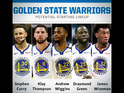 A New Dynasty: Potential 2020-2021 Golden State Warriors Starting Lineup - YouTube