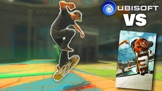 UBISOFT Tried To Beat EA SKATE 3 | Shaun White Skateboarding