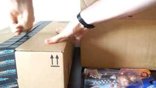 Wwe Amazon & Toys R Us Package Unboxing (relaxation Unboxing!!!) Asmr