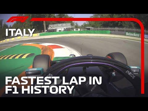 The Fastest Lap In F1 History - Lewis Hamilton's Pole Lap   2020 Italian Grand Prix   Pirelli