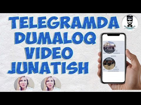 TELEGRAMDA DUMOLOQ VIDEO JO'NATISH (BUYURTMA)