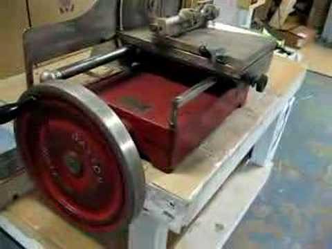 Antique IBM Dayton Meat Slicer