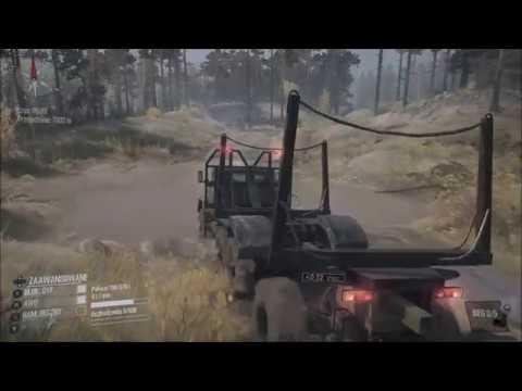 Xbox One Spintires: MudRunner ! Wybrzeże ! Transport Drewna cz.2 ! Ził-131 !