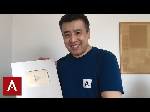 Unboxing the NEW YouTube Silver Play Button | Face Reveal 😱
