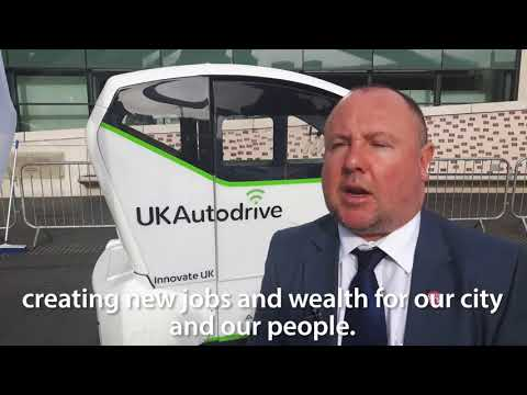 Coventry leading way on autonomous vehicles