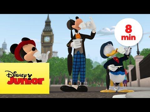 Los Bólidos Viajan a Europa I Mickey:...