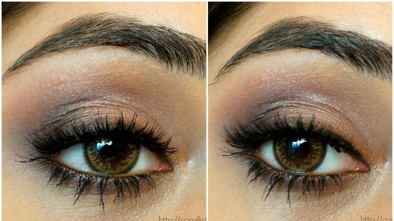 Très Makeup Revolution Iconic 3 Palette Tutorial | corallista - YouTube DV25