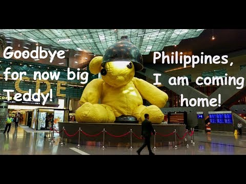 Traveling back to the Philippines via PAL Flight PR 657  DOHA to MANILA (Dudong's Homecoming)