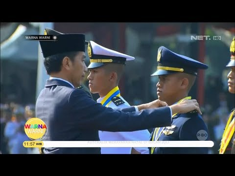 Presiden Joko Widodo Lantik 781 Perwira TNI Polri - Warna Warni