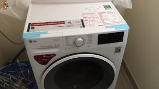 Soc - (How to use) Cách sử dụng Máy giặt LG inverter 8 kg FC1408S4W2