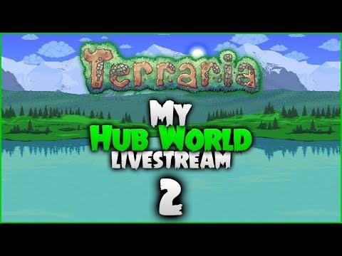 Terraria   QUITE THE TURNAROUND!   Python's World (New Hub World/Playthrough) w/Python [#2]