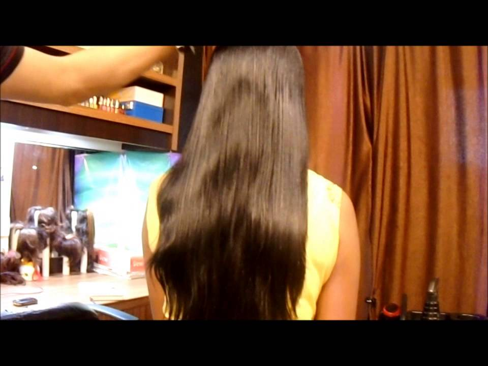 Trimming Silky Hair   YouTube