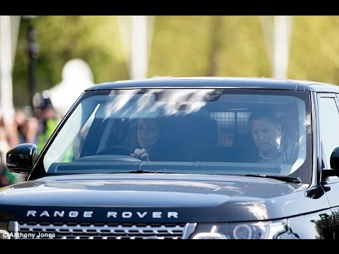 Kate Middleton Drive Their Own Cars To Deliver His Range