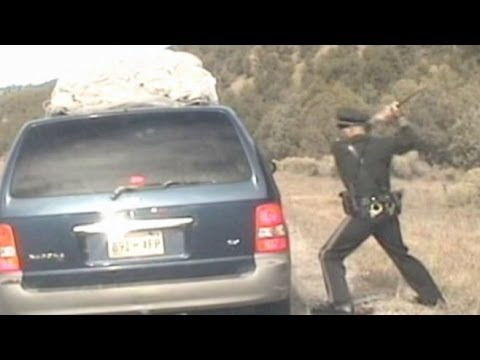 Police Dashcam Video: Chaos Erupts After Police Pull Over Minivan Filled With Kids In New Mexico