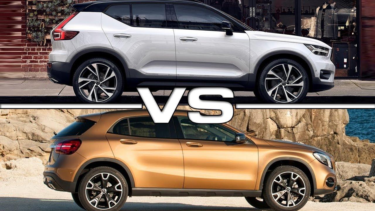 2018 Volvo XC40 vs 2018 Mercedes GLA - YouTube