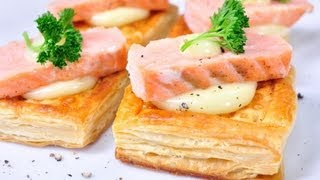 พายชั้น วิธีทำแบบฝรั่งเศส Puff Pastry French Method